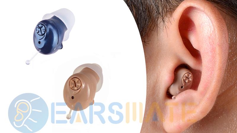 Un par de 2 unidades en el canal auditivo, los mejores audífonos digitales