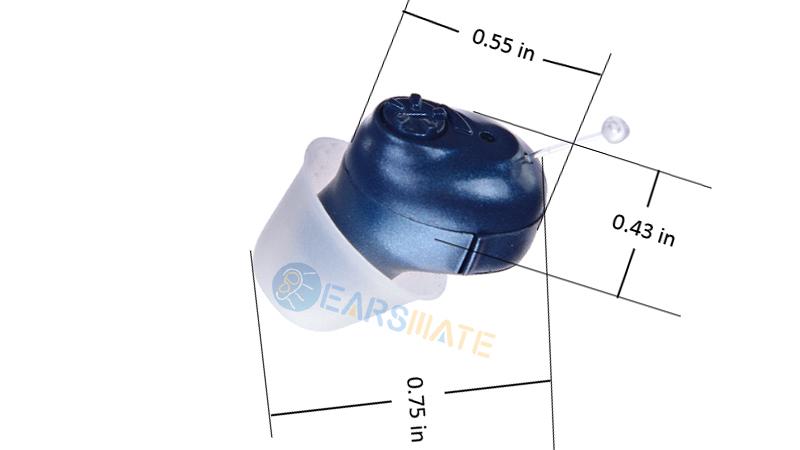 Audífonos digitales Blue Cic in Ear para adultos y ancianos