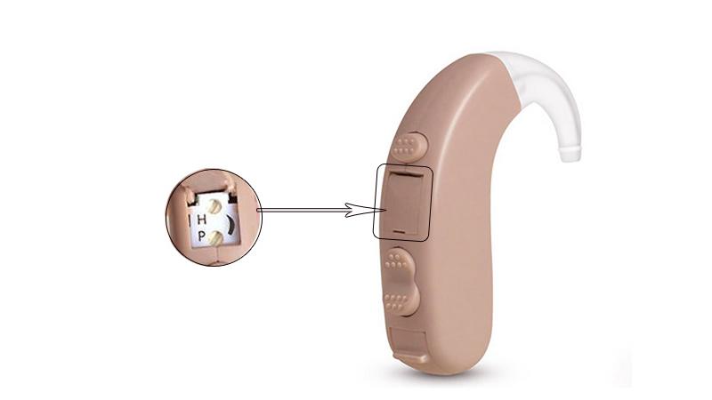 Audífonos digitales BTE pequeños de alta calidad