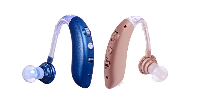 Moda azul BTE tipo nuevos audífonos recargables
