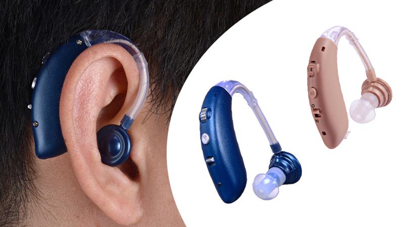 Audífonos BTE Bluetooth con baterías recargables