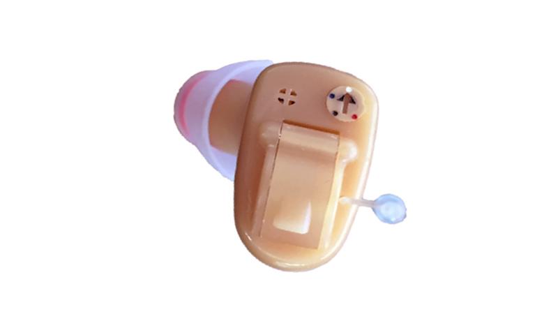 Audífonos completamente invisibles