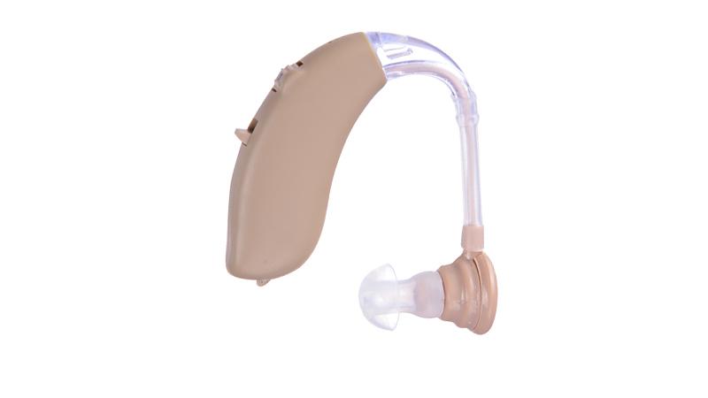 Amplificadores de audición por encima del oído
