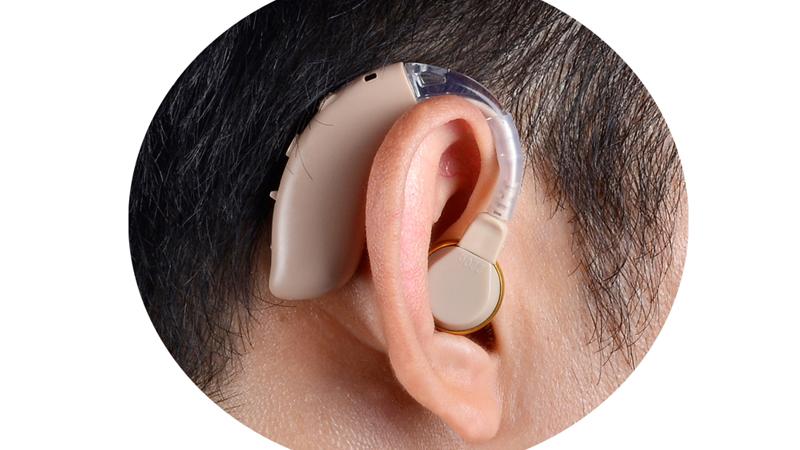 Amplificadores de audición recargables BTE